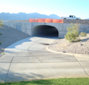 Coyote Springs Cart Tunnel